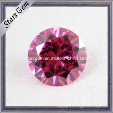 Бриллиантовая огранка розового цвета CZ Loose Beads