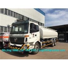 Foton Auman 6 * 4 petrolero pesado camión cisterna, 20KL petrolero con 6 compartimientos a la venta en las Filipinas