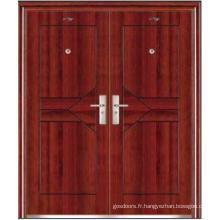 Porte double porte en acier (JC-031)