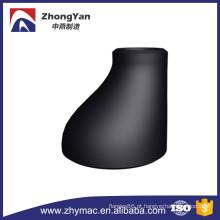 Tubulação sem emenda de aço carbono, montagem Redutores excêntricos pretos