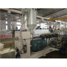 Chaîne de production en plastique de tuyau / tuyau de PE faisant la machine d'extrusion