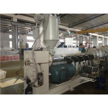 Plastikrohr-Fertigungsstraße / PET-Rohr, das Verdrängungs-Maschine bildet