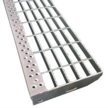 Hot Dip Galvanized Steel Stair Treads non-slip stair tread tape