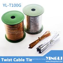 Cable de ligadura en jardinería y regalo