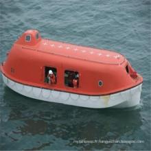 Barrage de sauvetage fermé au FRP marin avec 20 personnes