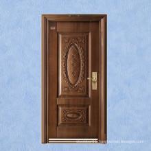 New design Imitation copper steel security door