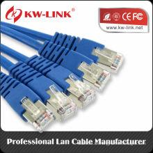 CAT5E UTP Solid / Stranded Patchkabel Kabel Netzwerk Tool Kit-Tester + Crimper + Rj45