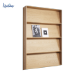 Nouveau support d'affichage de livre adapté aux besoins du client de conception, support en bois chaud de magazine de vente