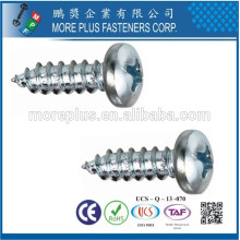 Maker in Taiwan Stainless Steel M2.2X16 Pan Head Small Size Taptite Screw