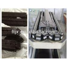 plastic corrugated pipe production line