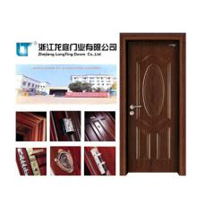Porta de madeira contínua interior (LTS-117)