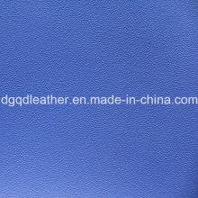 Couro alto do PVC da mobília da resistência do risco (QDL-515121)