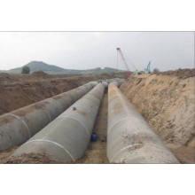 Kundengebundene Größe vorgespanntes Betonzylinder-Rohr
