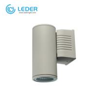 LEDER Dark Grey Aluminum 10W Outdoor Wall Light