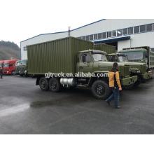 Camion de Dongfeng 6X6 de 190Hp CUMMINS de moteur pour le chargement résistant avec la tente et la tige