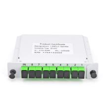 Séparateur PLC de type Cassette SC/APC d'excellente qualité 1x8