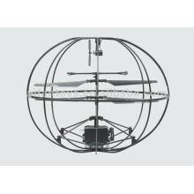 NUEVA bola del UFO del vuelo de la llegada 3CH RC con la cámara, bola del helicóptero del rc de la grabación video