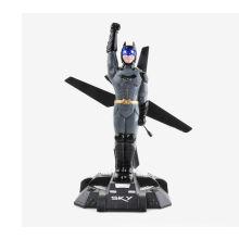 HCW550 4 canales 2.4Ghz de control remoto RC Flying Batman helicóptero
