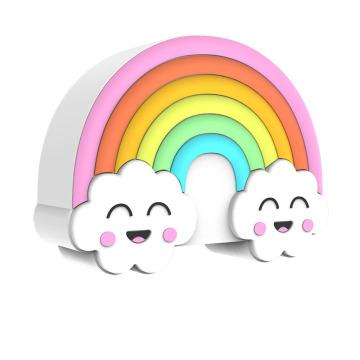 Colorful Rainbow Cube Bluetooth Speaker