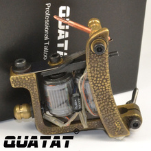 QUATAT Tattoo Artist handmade Tattoo Machine shader 12 Wrap excelente calidad