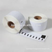 Dymo Compatible Labels 99012 89X36mm 260 Etiquetas por rollo (Dymo 99012) Etiqueta térmica Etiqueta