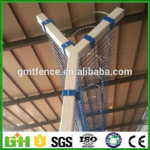 PVC coated airport fence/2x2 Galvanized Welded Wire Mesh for Fence