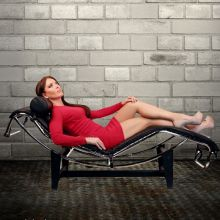 Le Corbusier Chaise Lounge Chair