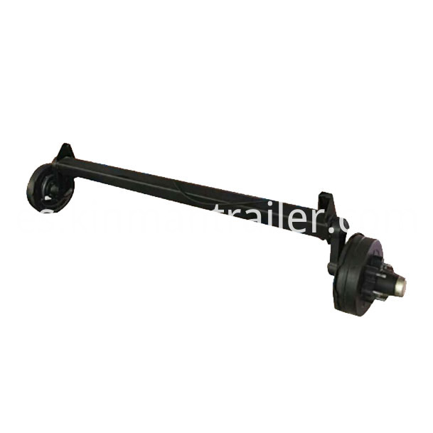 Galvanized Boat Trailer Torsion Axle With Brake
