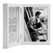 Custom wholesale Amazon hot sale Commemorate the good memories Double hinged folding wedding frame