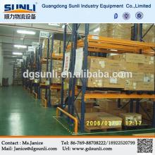 Plataforma de acero estante del almacenaje del almacén del proveedor de Dongguan de la venta caliente