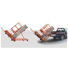 Tilting aluminium alloy lifting platform (single mast)