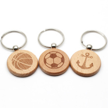 Custom Blank Wood Carving Name Keychain, Wooden Handicrafts Blank Wooden Keyring Key Chain With Name