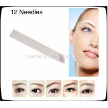 Wholesale Permanent Makeup Eyebrow Microblading Needles,Microblading Blades, Microbalding Pen