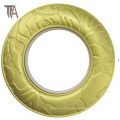 Decorated Plastic Curtain Ring for Curtain Rod
