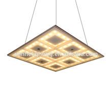 Led Crystal Decke quadratischen LED Decke Licht quadratischen Anhänger Lights For Room