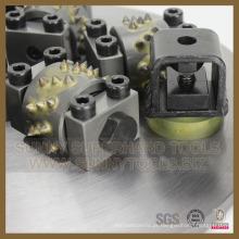 Martelo de moedura giratório do assoalho concreto de moedura do diamante