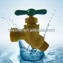 Hose Bibb-Quarter Turn Valve (Brass construction,Solder cup or MIP to hose connections Lead free