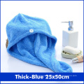 Towel Microfiber Towel Hair Towel Bath  Terry  Color Soft Skin-Friendly Quick Dry Super Water Absorption No Irritation
