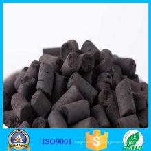 Столбчатых активированного угля серы