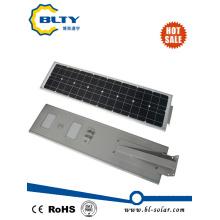 50W iluminación LED integrada con panel solar