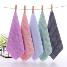DEQI Soft Kitchen Cleaning Towels Dish Towel Super Absorbent Wash Cloth Towel for Household Kitchen