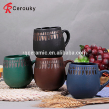 Выдвижная старинная форма бочонка керамическая кружка чая