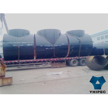Q234b Carbon Steel Pipe Fitting Tee with CE