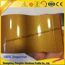 Perfil de extrusão de alumínio para perfil de eletroforese de cristal de eletroforese