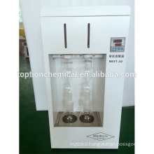 6 channels Soxhlet extraction theory Milk Fat Analyzer
