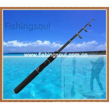 Cañas de pescar telescópicas de fibra de vidrio TSR004