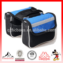 Saco de ciclismo telefone bicicleta acessórios bicicleta sela tubo pacote mountain bike Double Bag