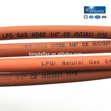 Smooth Surface Rubber Industrial Welding LPG Hose