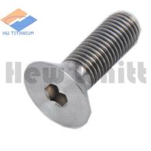 titanium countersunk head bolt with torx