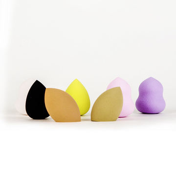 Foundation Blending Sponge Sponge Rias Berwarna-warni